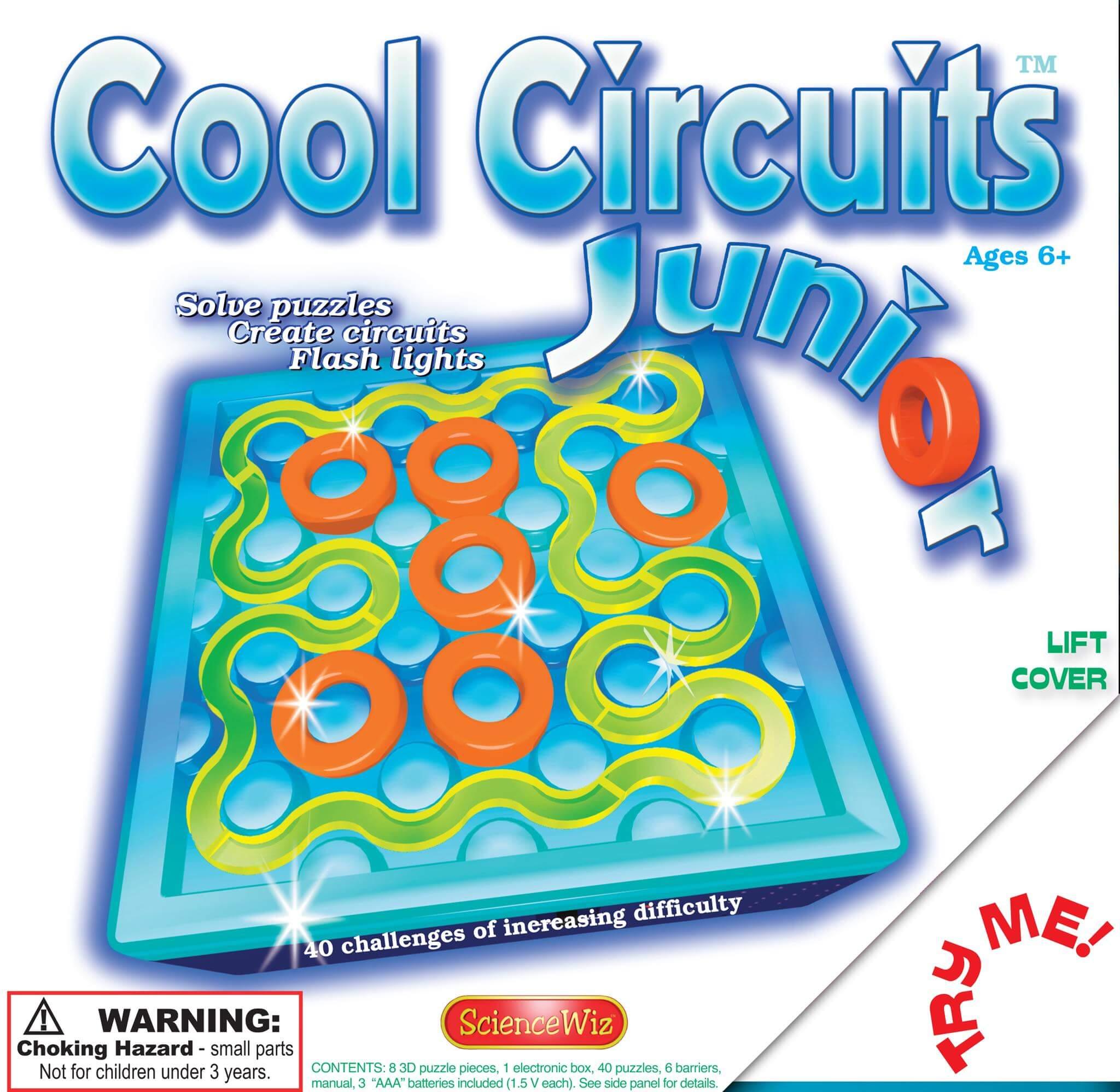 Sciencewiz Explore Science Through Play Electronic Circuit Jr Cool Circuits