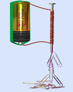 Make and Explore Electromagnets