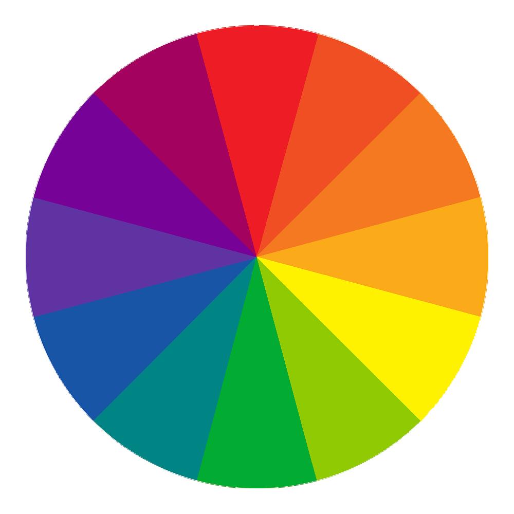 Spin a color wheel