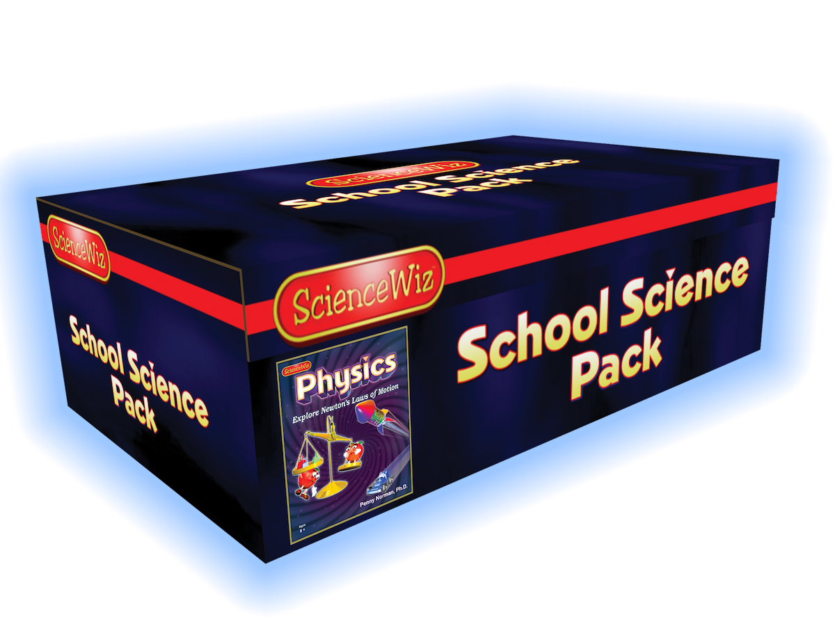 ScienceWiz Physics Experiment Kit and Book 24 Experiments Motion