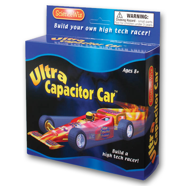 Ultra Capacitor Car