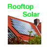 Roof Top Solar with solar voltaic cells
