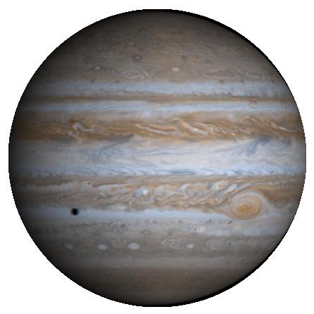 Jupiter in 3D